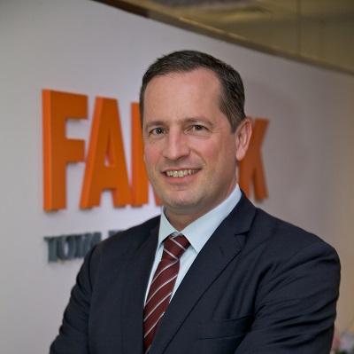 ماركوس أوبرلين، الرئيس التنفيذي لشركة فارنيك