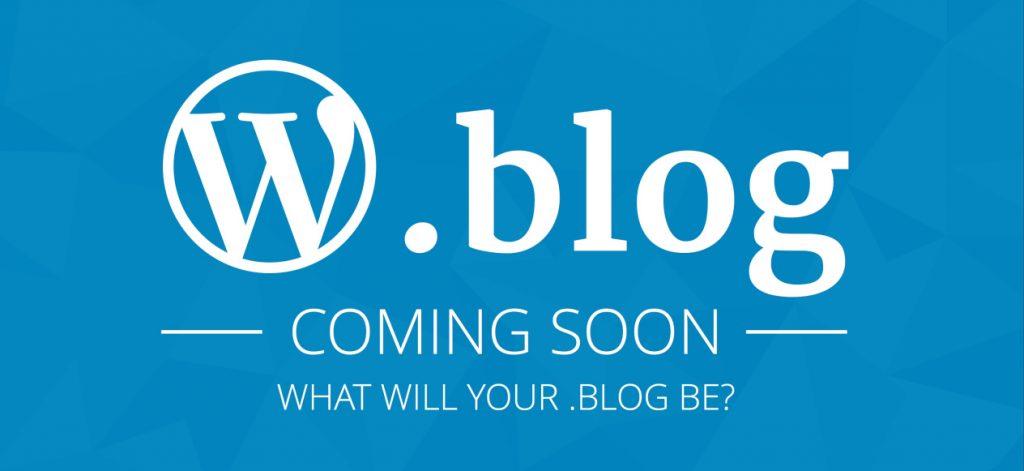 wordpress .blog