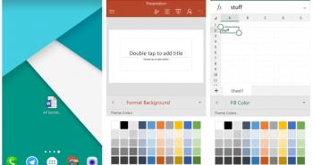تطبيقات مايكرسوفت أوفيس تدعم وضع اختصارات الملفات على الشاشة الرئيسية