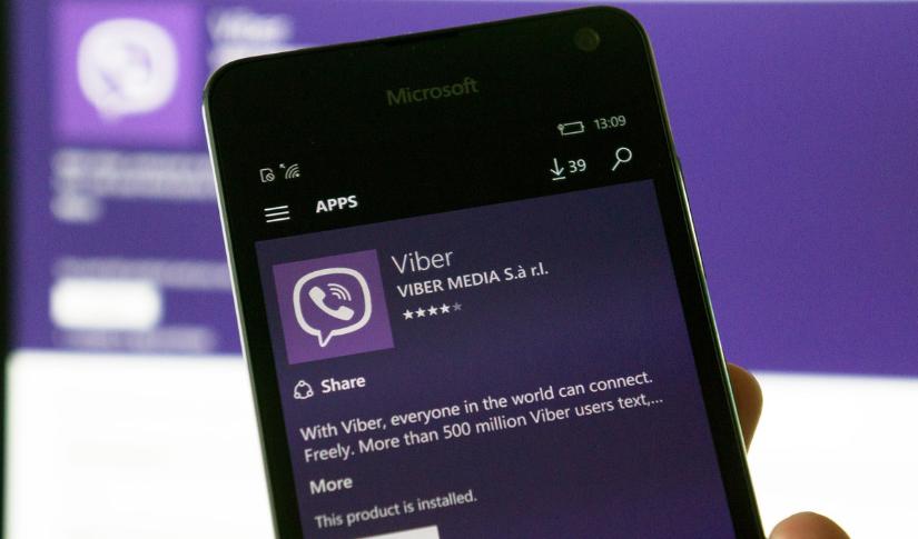 """تطبيق فايبر """"Viber"""" الآن متاح على نظام ويندوز 10"""