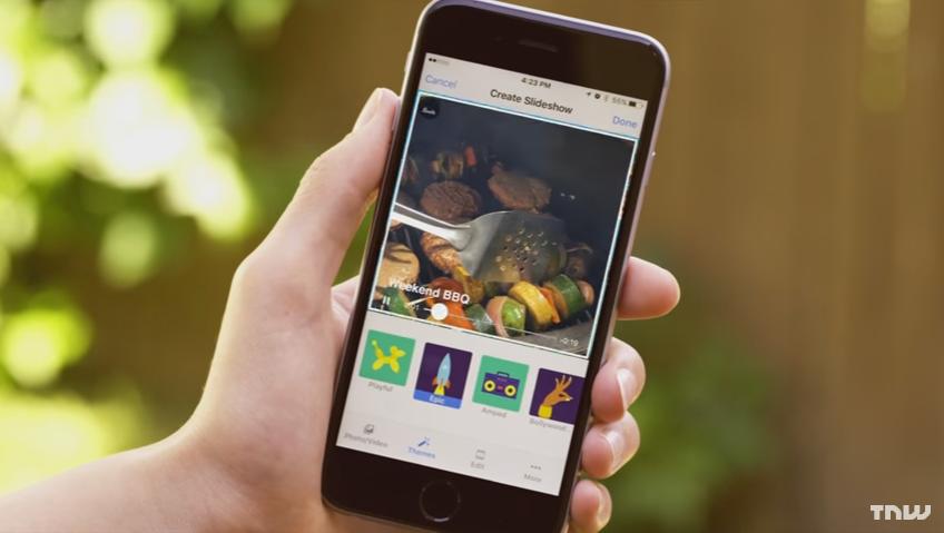 تطبيق فيسبوك على iOS يُجلب ميزة عرض الشرائح لصورك وحتى مقاطعك الفيديو