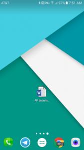 تطبيقات مايكرسوفت أوفيس تدعم وضع اختصارات الملفات على الشاشة الرئيسية وأكثر
