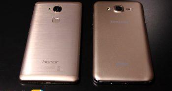 مقارنة هاتفي أونور 5X مع جالكسي J7