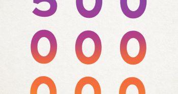 انستغرام تعلن عن 500 مليون مستخدم نشط شهرياً