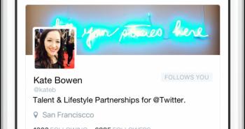 تويتر تطلق تطبيق Engage للمشاهير