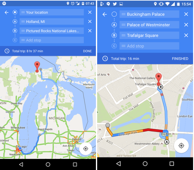 Google-Maps-Android-Multiple-Destination