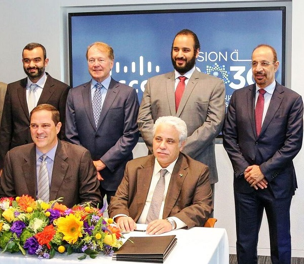 Saudi Arabia Digitization MoU Signing - 1