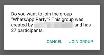 أخيراً .. واتساب تبدأ في تفعيل نظام الدعوات الجديد للمجموعات