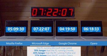 مايكروسوفت تؤكد: إيدج الأفضل و كروم الأسوء في استهلاك بطارية جهازك