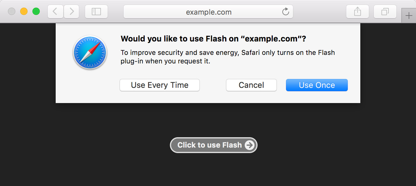 safari-flash