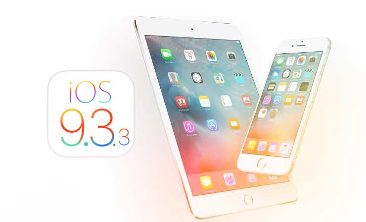 ����� iOS 9.3.3