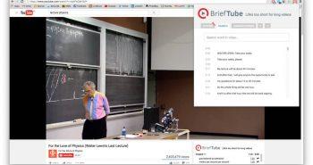 BriefTube إضافة كروم لتحسين تجربة التعلُّم على يوتيوب