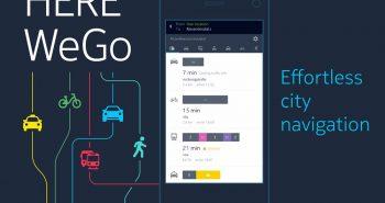 خرائط هير تعلن عن تحسينات كبيرة وتغيير الإسم إلى HERE WeGo
