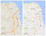 قوقل تجعل من خدمة الخرائط خاصتها أكثر اناقة وتضيف خيار الأماكن ذات الاهتمام