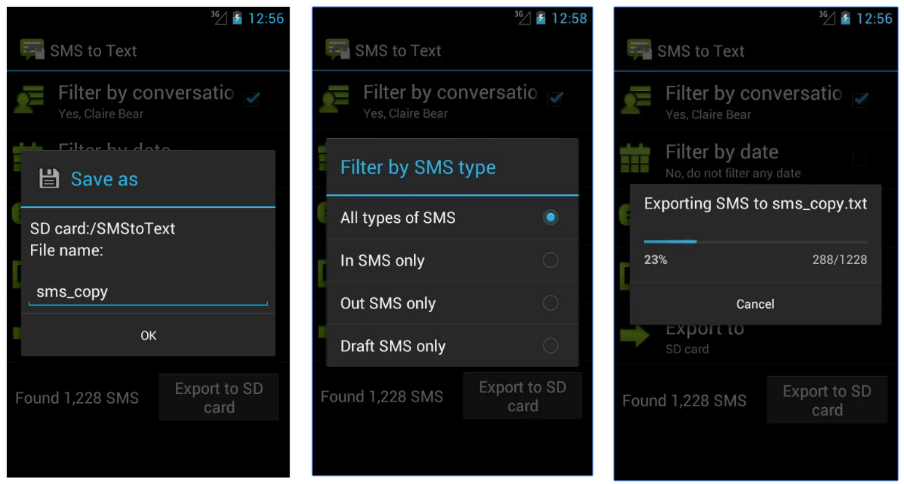 SMS to Text