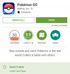 بوكيمون جو تحقق أكثر من 50 مليون تنزيل على قوقل بلاي