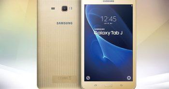 سامسونج تطلق اللوحي Galaxy Tab J بمواصفات منخفضة وسعر رخيص