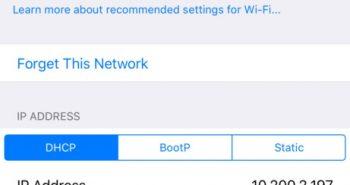 iOS 10 يحذرك عند الإتصال بشبكة واي فاي غير آمنة