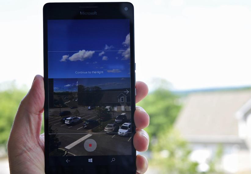 تطبيق كاميرا ويندوز 10 موبايل تدعم الآن التصوير البانورامي