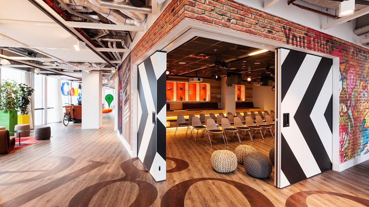 Fuchsia for Google office zurich design