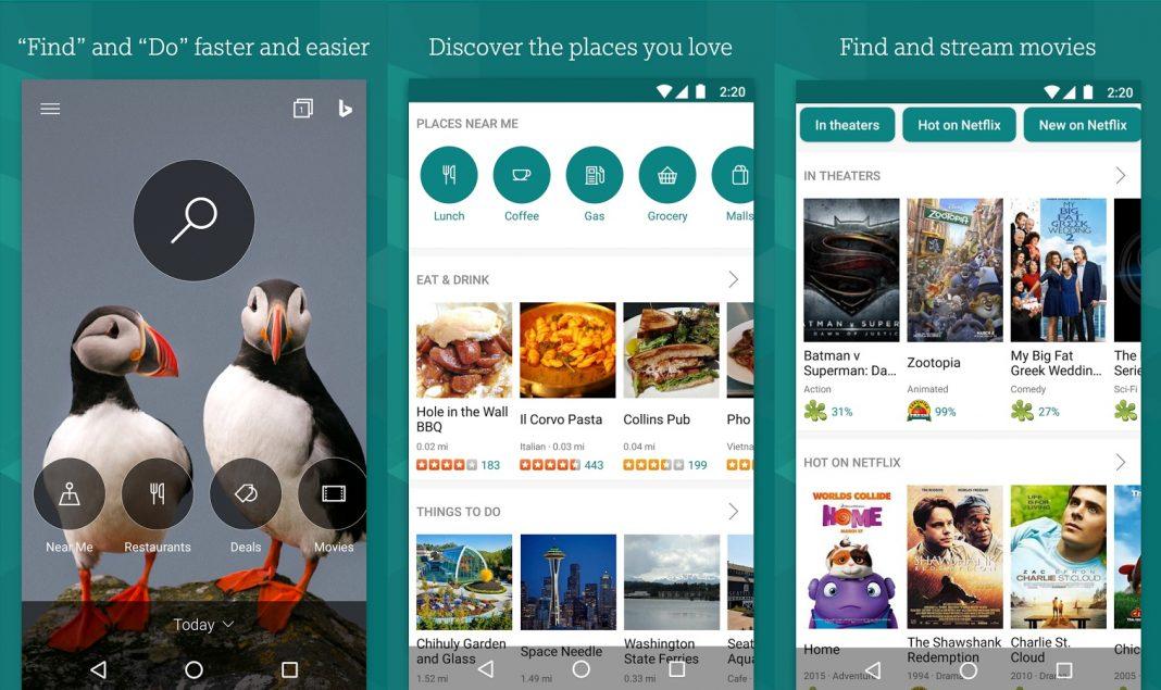 تطبيق محرك البحث Bing يُوفّر ميزة معاينة الفيديو والبحث عن الموسيقى