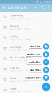 تطبيق التخزين السحابي بوكس Box يحصل على تصميم جديد كليًا
