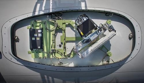 JetWave Hardware for GX Aviation Installation on Honeywell B757 Test Air...