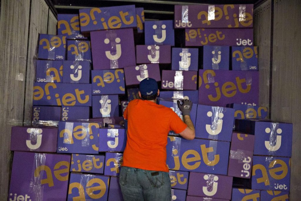 Inside A Jet.com Inc. Fulfillment Center On Cyber Monday