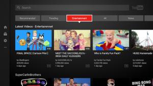 تحديث كبير لتطبيق يوتيوب المخصص للشاشات الذكية