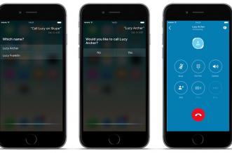 سكايب على ايفون وايباد يدعم سيري ويوفّر بعض مميزات iOS 10
