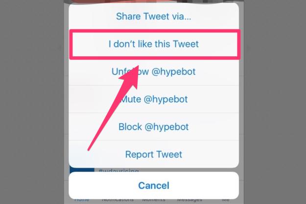 تويتر على iOS يُضيف زر جديد لتعزيز التغريدات المناسبة على الجدول الزمني