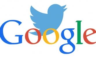 تويتر وجوجل