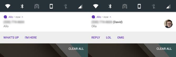 تحديث Allo يدعم اندرويد وير والردود المباشرة ولوحة مفاتيح GIF
