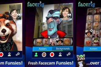 """تطبيق FaceRig لتجسيد شخصيات ثلاثية الأبعاد """"أقنعة"""" بدلًا من وجهك"""