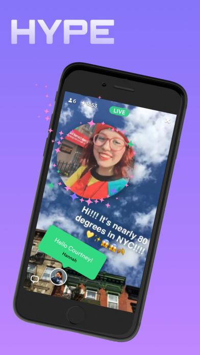 تطبيق Hype لمزج الوسائط المتعددة مع لقطات فيديو مباشر
