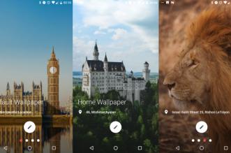تطبيق PaperSpot لتغيير خلفية هاتفك الأندرويد تلقائيًا