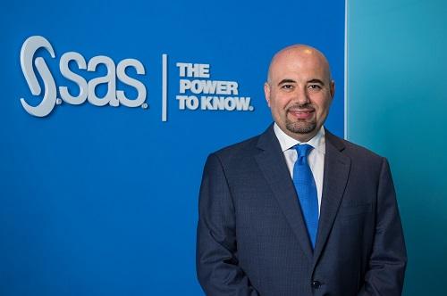 شكري دبغي، المدير الإقليمي لشركة 'ساس' في منطقة الشرق الأوسط والبلدان الأفريقية الناطقة بالفرنسية