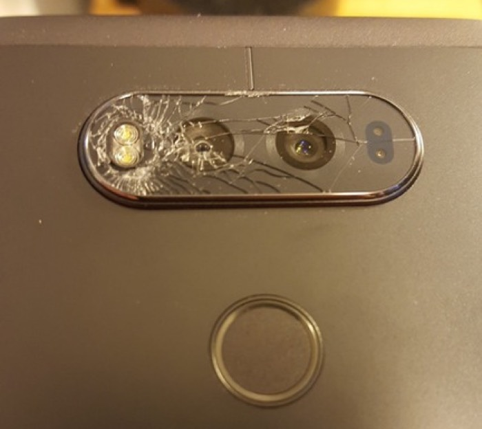 تشهّم زجاج كاميرا LG V20