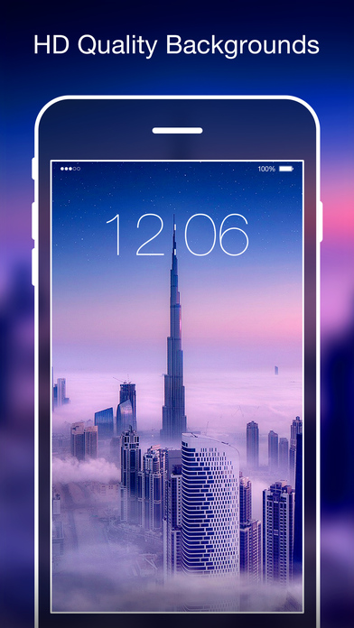 تطبيق 10000+ Wallpapers متجر خلفيات HD على iOS