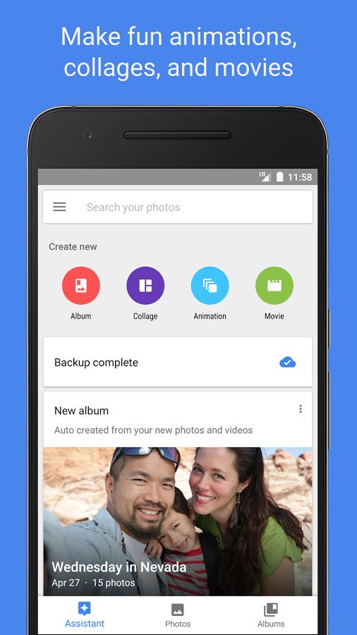 تطبيق صور قوقل يدعم الآن إنشاء صور متحركة دون الحاجة للإتصال بالشبكة