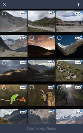 أدوبي تُحدّث تطبيقها Lightroom بالدعم الكامل للتصوير بتقنية RAW