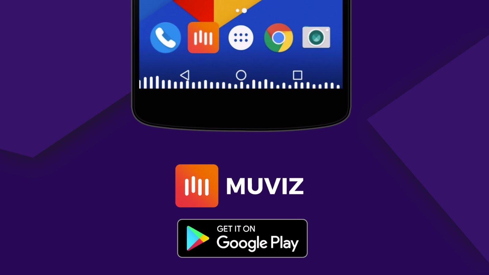 تطبيق MUVIZ لإضافة مؤثرات تفاعلية عند تشغيل الفيديو والموسيقى