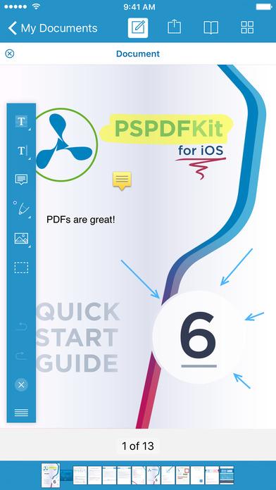 تطبيق PDF Viewer لإدارة وإنشاء وتحرير ملفات PDF على iOS