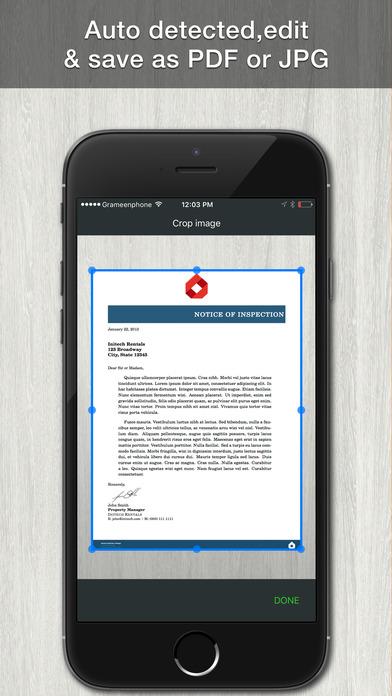 تطبيق الماسح الضوئي الجديد Scan Documents على iOS