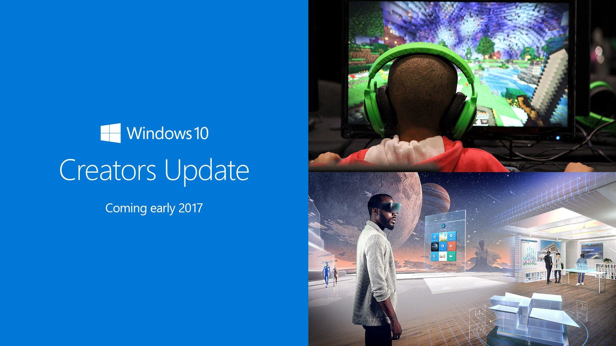 حمّل الآن تحديث ويندوز 10 Creators Update - عالم التقنية
