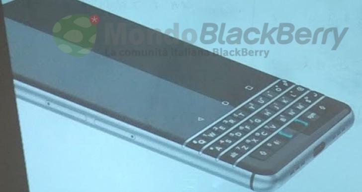 بلاك بيري اندرويد لوحة مفاتيح حقيقية