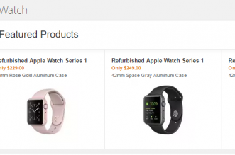 Refurbished Apple Watch