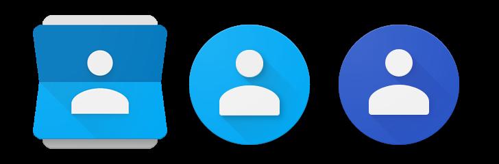 تحديث تطبيق جهات إتصال قوقل مع رمز وواجهة إقتراحات جديدة