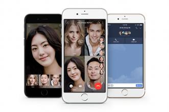 تطبيق لاين يتيح مكالمات الفيديو بين 200 شخص كحد أقصى