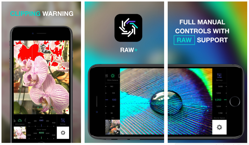 تطبيق RAW+ على آيفون لتصوير صور الخام وضبطها يدويًا - عالم التقنية